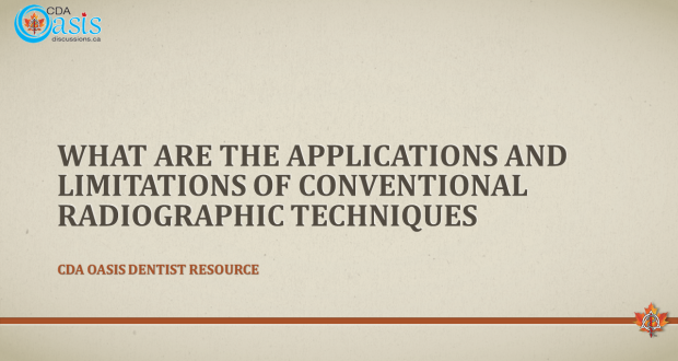 What are the applications and limitations of conventional radiographic imaging techniques